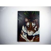Tiger Ölbild