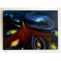 Galaxie Ölbild