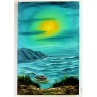 Das Boot Ölbild