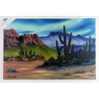 Die Wüste Ölbild