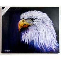 Adler Ölbild