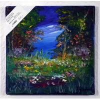 Blumenwiese Ölbild