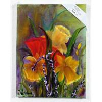 Blumenbild Ölbild