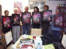 Malkurs 26-11-2011 Ilse Wernhard Kursbild