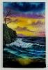 Das Ufer Bob Ross Ölbild 10331