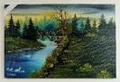 Die Bruecke Bob Ross Ölbild 10429
