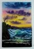Die Welle Bob Ross Ölbild 10393