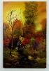 Huette im Herbstwald Bob Ross Ölbild 10335