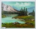 Kanada Bob Ross Ölbild 10159