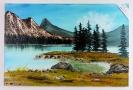 Kanada Bob Ross Ölbild 10439