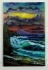 stuermisches Meer Bob Ross Ölbild 10273
