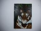 Tiger Bob Ross Ölbild 10217