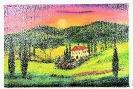 Toskana Bob Ross Ölbild 10334