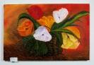 Tulpen im Korb Bob Ross Ölbild 10186