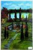Waldweg Bob Ross Ölbild 10300