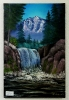 Wasserfall Bob Ross Ölbild 10299