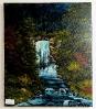 Wasserfall Bob Ross Ölbild 10303