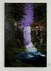 Wasserfall im Wald Bob Ross Ölbild 10252