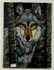Wolf Bob Ross Ölbild 10319