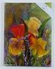 Blumenbild Ilse Wernhard Ölbild 10490