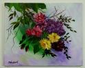 Blumenranken Jenkins Art Ölbild 10132
