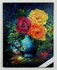 Blumenvase Jenkins Art Ölbild 10504