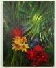 Dschungelblumen Jenkins Art Ölbild 10136