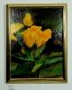 gelbe Rosen Ilse Wernhard Ölbild 10207