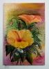 gelber Hibiskus Bob Ross Ölbild 10200
