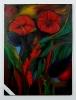 Lilien - 5 teilig Ilse Wernhard Ölbild 10532