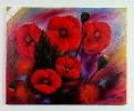 Mohnblumen Ilse Wernhard Ölbild 10460