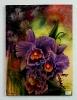 Orchideen Ilse Wernhard Ölbild 10283