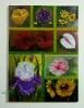 verschiedene Blueten Ilse Wernhard Ölbild 10233