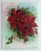 Weihnachtsstern Bob Ross Ölbild 10447