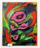 Blumen im Wind Ilse Wernhard Ölbild 10178