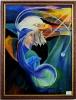 die Weisheit Ilse Wernhard Ölbild 10284