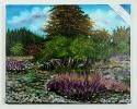 Feuersteinfelder auf Ruegen Ilse Wernhard Ölbild 10508