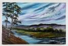Landschaft Ilse Wernhard Ölbild 10372