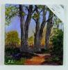 Lichtung Ilse Wernhard Ölbild 10478