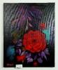 Rote Rose Ilse Wernhard Ölbild 10173