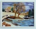 Winterlandschaft Ilse Wernhard Ölbild 10295