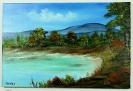 Die Bucht Bob Ross Ölbild 10337