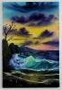 Die Welle Bob Ross Ölbild 10414