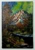 Gewitter in den Bergen Bob Ross Ölbild 10262