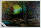 Herbstbild Bob Ross Ölbild 10426