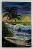 Karibik in der Abenddaemmerung Bob Ross Ölbild 10402