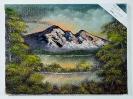 Landschaft Bob Ross Ölbild 10483