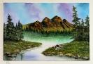 Landschaft Bob Ross Ölbild 10249