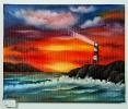 Leuchturm Ilse Wernhard Ölbild 10152