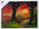 Lichtung Ilse Wernhard Ölbild 10479